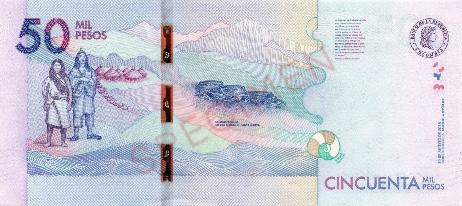 Colombian peso back