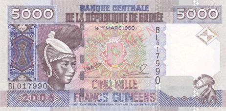 Republik Guinea Franc