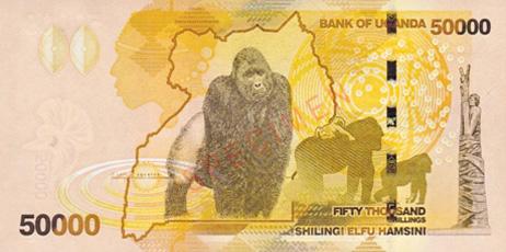 Shilling ougandais.