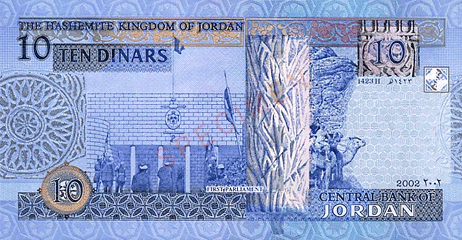 Currency Code Jod