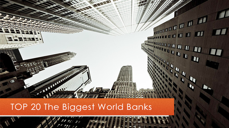 TOP 20 Largest World Banks in 2020 by Total Assets