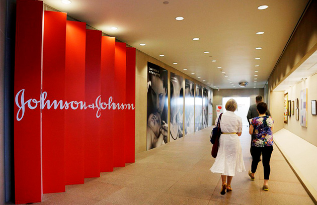 top 10 companies in the world. Johnson and Johnson