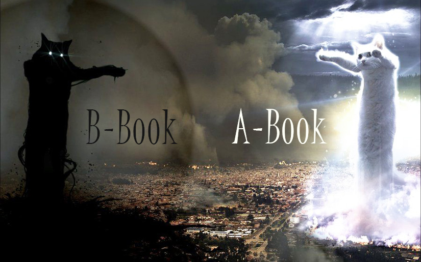 A-book and B-book. Some New Facts on The Old Things