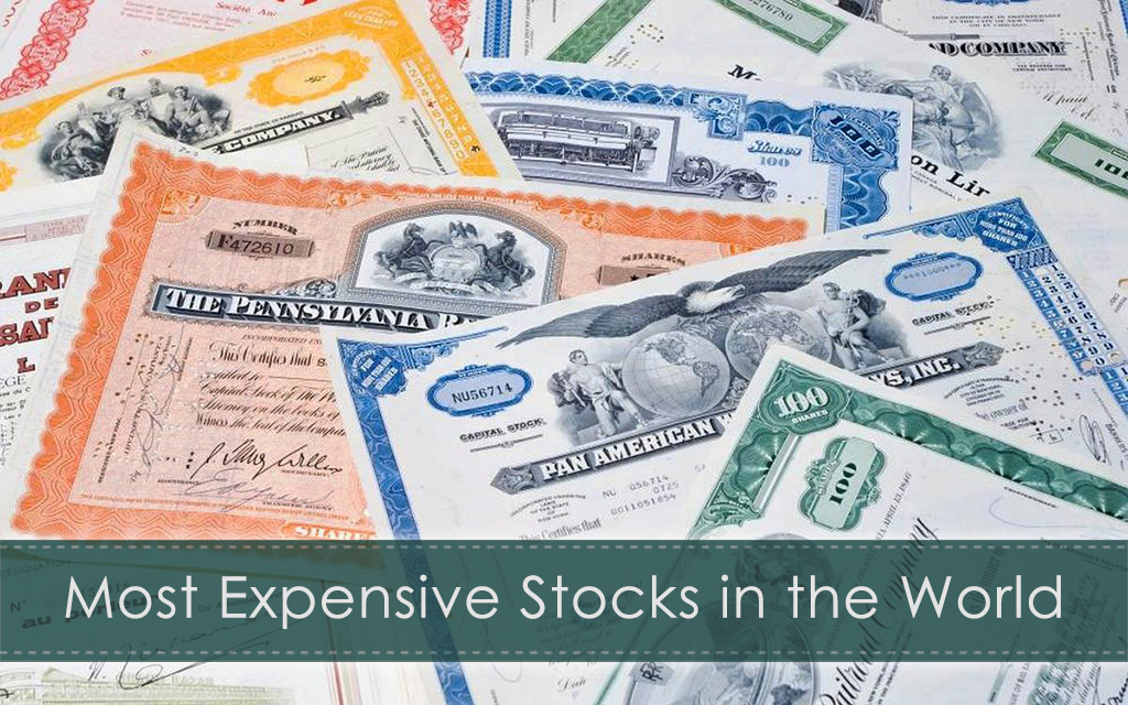 Which are the Most Expensive Stocks in the World?