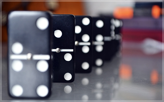 The Domino Effect in the Forex Market