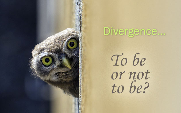 Divergence: to be or not to be