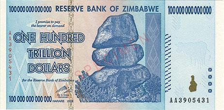 Third Zimbabwe Dollar
