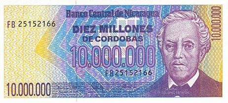 Nicaraguan Cordoba