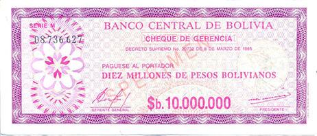 Peso Boliviano