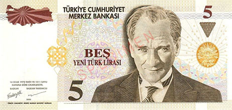 Turkish New Lira