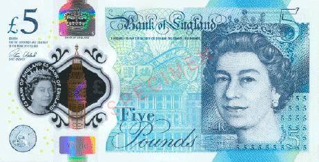 Pfund Sterling stabilste Währungen 2020