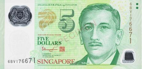 Singapore Dollar safest currencies 2020