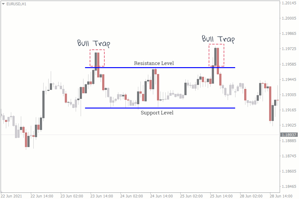 what is a bull trap